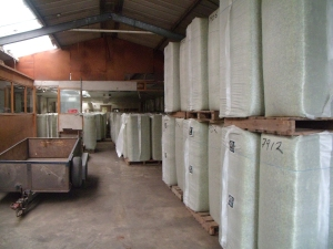 Hop Bales ready to go